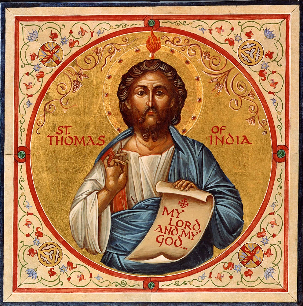 "thomas the apostle Born in galilee, thomas the apostle, also called didymus (meaning ""twin"") and doubting thomas, was one of the twelve apostles he was believed to have been the only apostle who traveled outside of the roman empire to preach the gospel."
